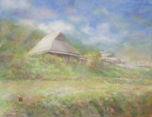 絵画「大原の里」京都