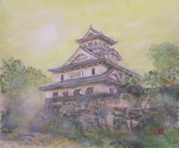 絵画「長浜城」